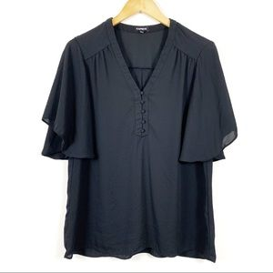Express Butterfly Sleeve Top
